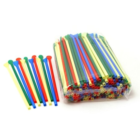 1 Bag of Unwrapped Spoon Straws